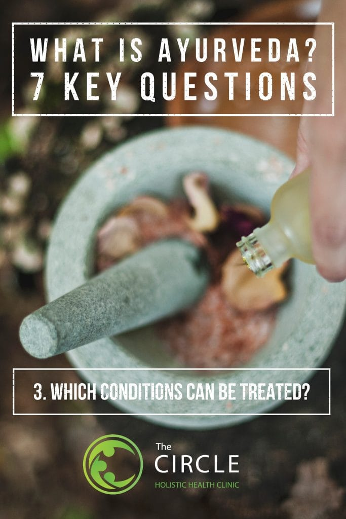 Which health conditions can be treated?